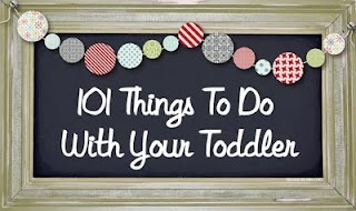 Activities to do with toddlers