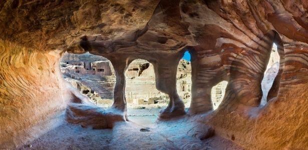 """Fascinante, cidade perdida de Petra já foi cenário de """"Indiana Jones"""""""