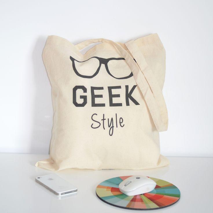 Petite Mila   Tote bag Geek