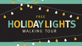 FREE Holiday Lights Walking Tours || Need some holiday selfie ideas? Join the Downtown BIA on a tour of some of the hottest locations for one on December 5, 13 or 20!