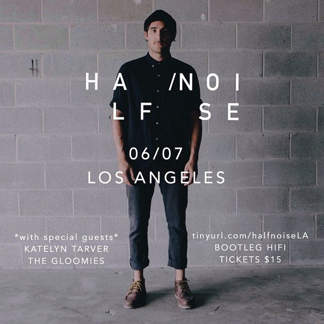 The tour starts tomorrow in Los Angeles!! @halfnoisemusic @katelyntarver & @thegloomies 730 doors at the Bootleg!