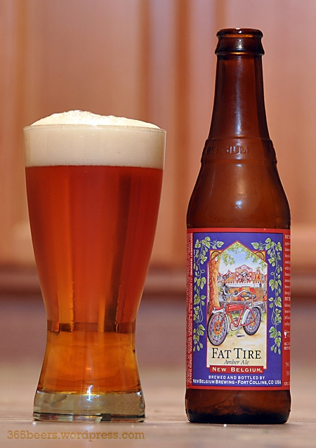 Fat Tire Amber Ale. Yummy.