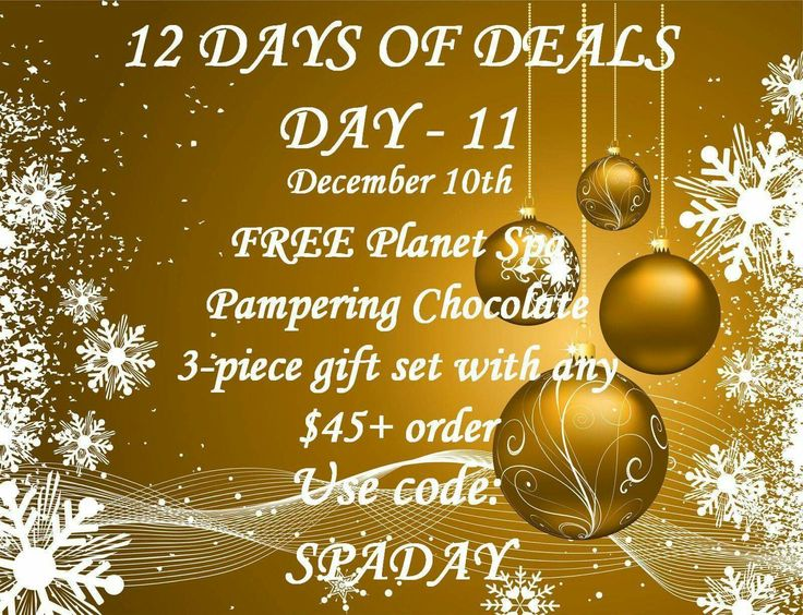50 best images about free gift on pinterest happy for 12 days of christmas salon specials