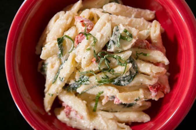 Smoked Mozzarella Pasta Salad #copycat #recipe #wholefoods