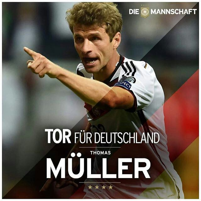 Muller Scores Twice against Scotland on Euro Qualification 2016.