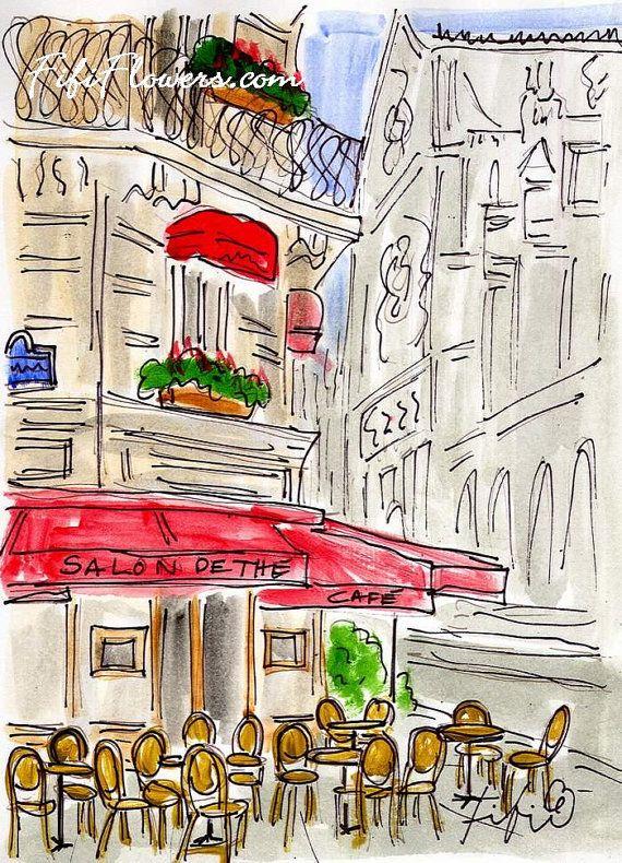 Paris Salon de Thé by Fifi Flowers