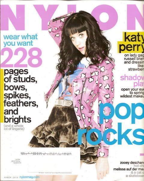 Katy Perry Nylon Magazine Mar 2010 Zooey Deschanel Pixie Melissa Auf Der Maur