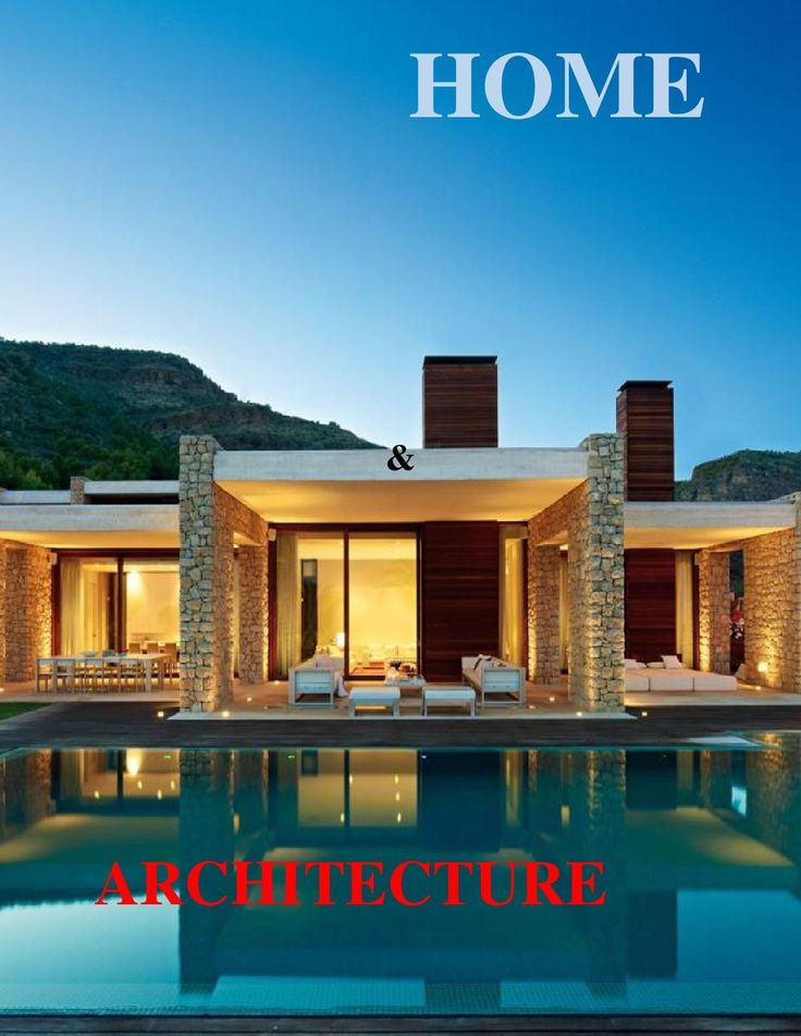 1000 Images About HOME ARCHITECTURE Magazine On