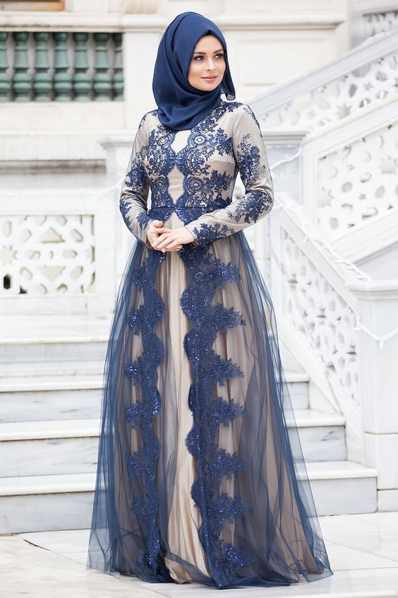 أحلى صور ملابس فساتين محجبات عالم الصور Muslim Evening Dresses Muslim Fashion Dress Turkish Dress