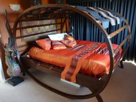 Exceptional Solid Teak Egg Bed From Suay Baan Sabai Thai Furniture U0026 Decor.  Www.suaybaansabai