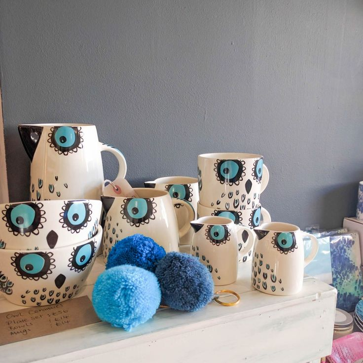 Hannah Turner Owl collection