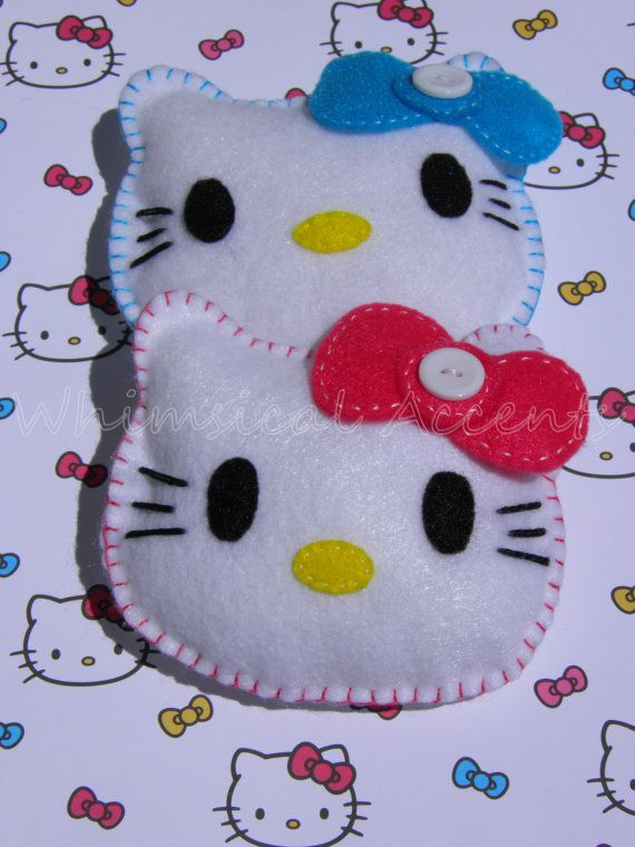 Hello Kitty Party Favors for Baby Shower, Birthday Party, Gift Basket Stuffer by whimsicalaccents