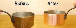 Putsa koppar – det här tar inte ens en minut! Att putsa koppar kan vara både svårt och jobbigt. Men här får du tipset som ger dig skinande kärl på mindre än en minut. Allt du behöver är salt, vinäger o