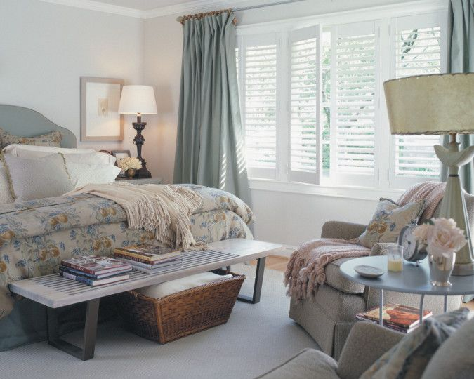 25 best plantation shutters with curtains images on pinterest blinds indoor shutters and for Cost of blinds for 3 bedroom house