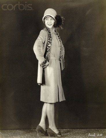 Nancy Carroll 20's fashion.