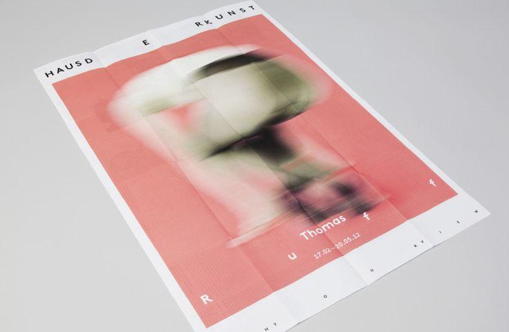 Haus der Kunst, visual identity   iamsanderson