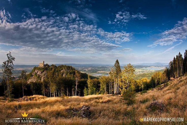 Piękny widok na Zamek Chojnik #karkonosze #mountain