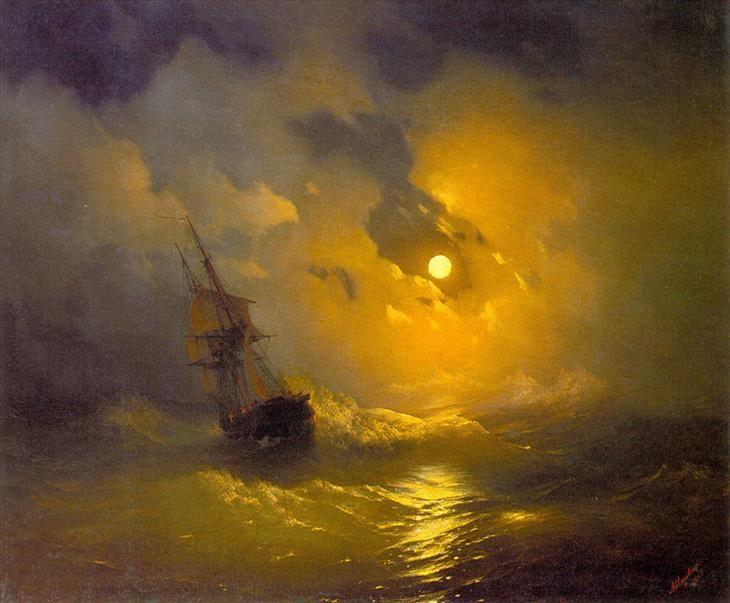 Ao longo de sua carreira, o artista do século 19 pintou mais de 6 mil obras de arte - e mais da metade delas retratam o mar e os navios.