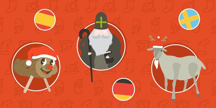 Weihnachten - überall auf der Welt wo es gefeiert wird, bietet sich ein anderes Bild mit unterschiedlichen Traditionen