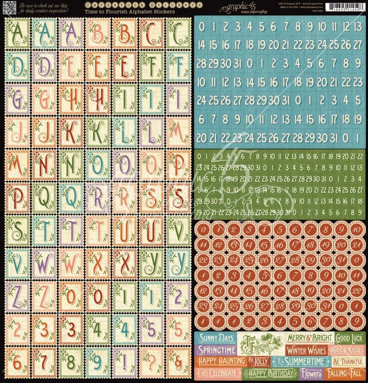 Graphic.45.Time.To.Flourish.-.Calendar.-.26.of.36.-.Alphabet.Sticker