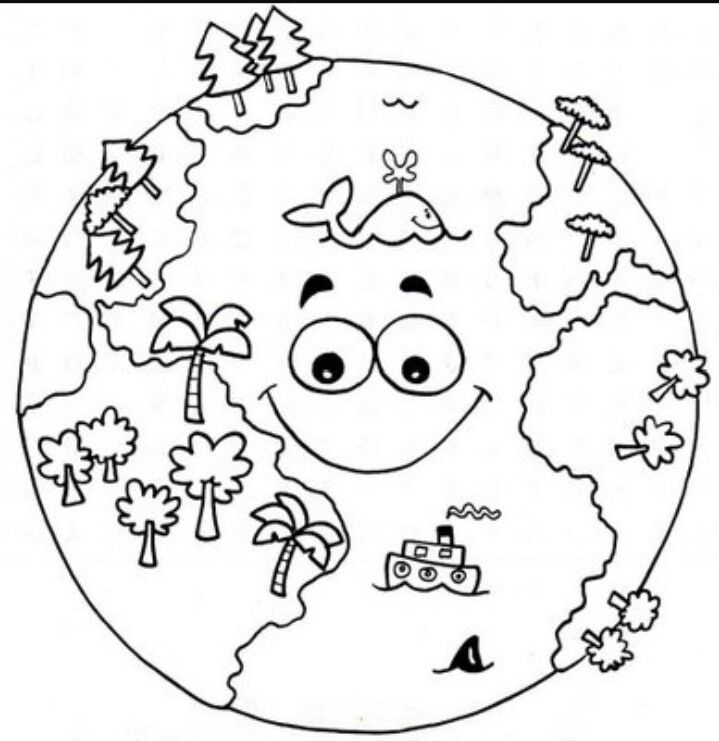 Pin By Iltekin Okul On Uzay Ve Gokyuzu Earth Day Coloring Pages Space Coloring Pages Earth Coloring Pages