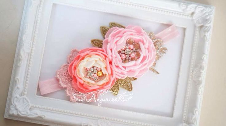 #diy #craft #singedflower #handmade #babyheadband #fabric #flower