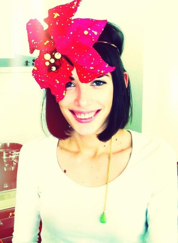 Peekaboo Flower Crown, Lynda Holt.