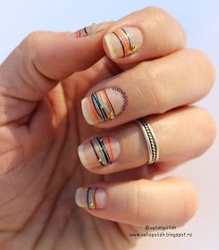 nail art, kratki nokti, prirodni nokti,futuristički dizajn, minimalistički nail art, minimalist nail art, nail art blogger, natural nails, short nails,Golden Rose, lakovi