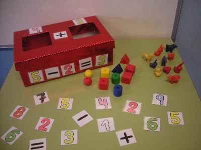 Caja mágica de operaciones matemáticas