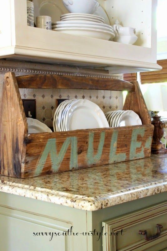 Lovely e Dozen Ideas for Vintage Items Simple Elegant - Unique kitchen countertop organization ideas In 2018