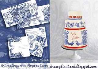 blue-bird wedding cake by Lipovszky-Drescher Mária