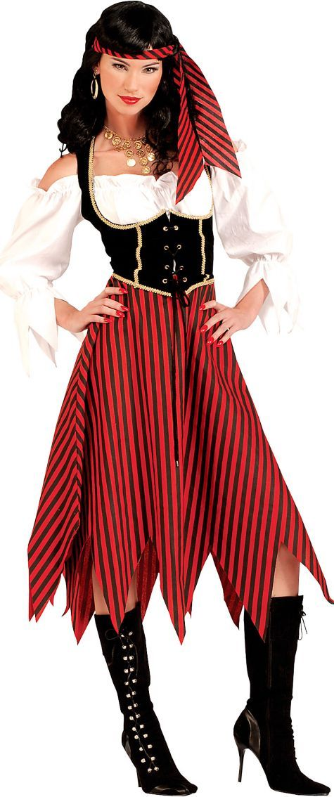 Pirate Maiden Costume for Women - Party City | Halloween ...