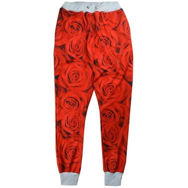 Unisex Emoji Sweatpants Jogger red rose floral Jordan jogging Trousers... ($35) ❤ liked on Polyvore featuring activewear, activewear pants, bottoms, pants, jogger sweat pants, red jogger sweatpants, jogger sweatpants, red sweatpants and red sweat pants