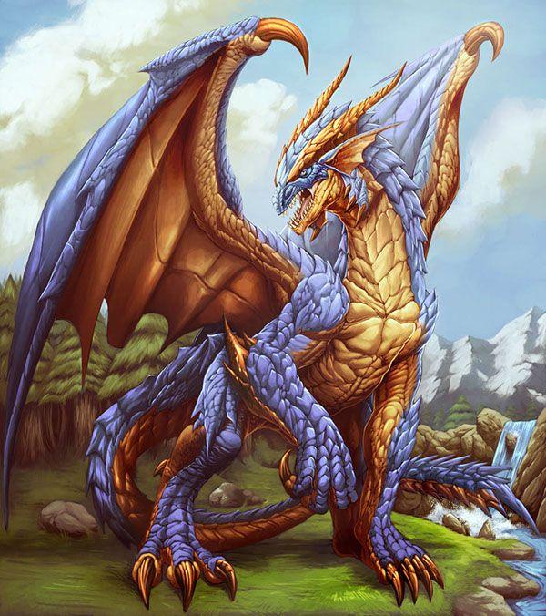 Dragon art on Behance