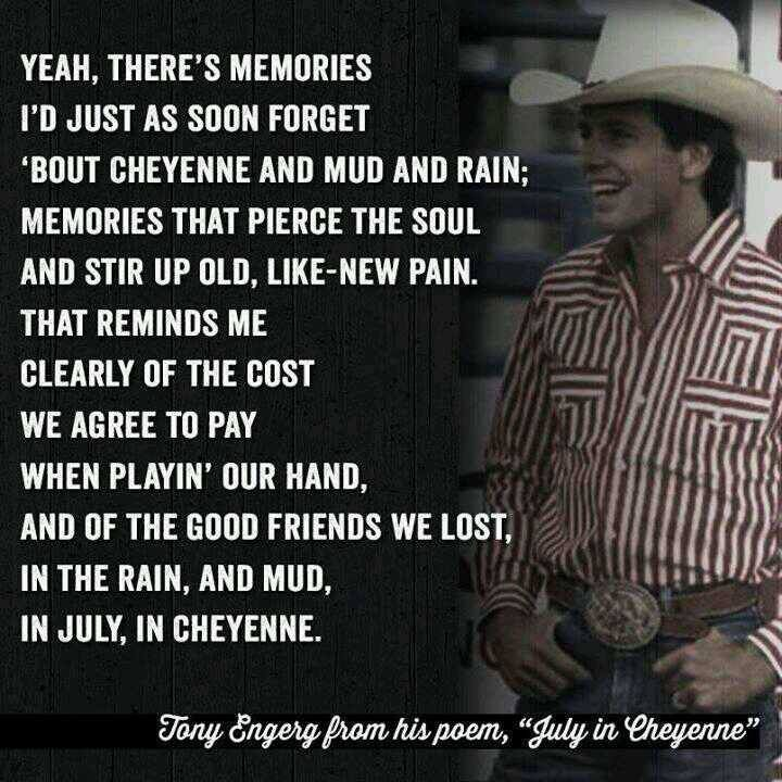 July in Cheyenne - Aaron Watson (Dedicated to Lane Frost).