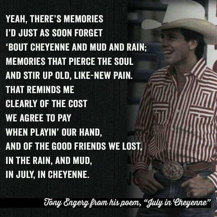 July in Cheyenne - Aaron Watson (Dedicated to Lane Frost).