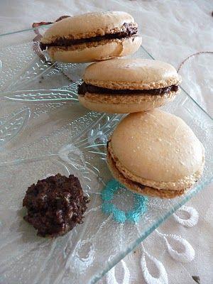 Papilles on/off: Macarons salés : à la tapenade !