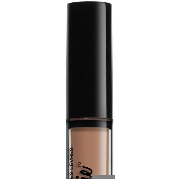 Nyx Professional Makeup Lip Lingerie Matte Liquid Lipstick ($7) ❤ liked on Polyvore featuring beauty products, makeup, lip makeup, lipstick, corset, nyx, nyx lipstick and creamy lipstick