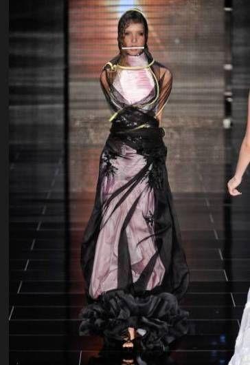 Samuel Cirnansck Bridal 2011 Collection: Freakish Wedding Dresses   Sour Cherry