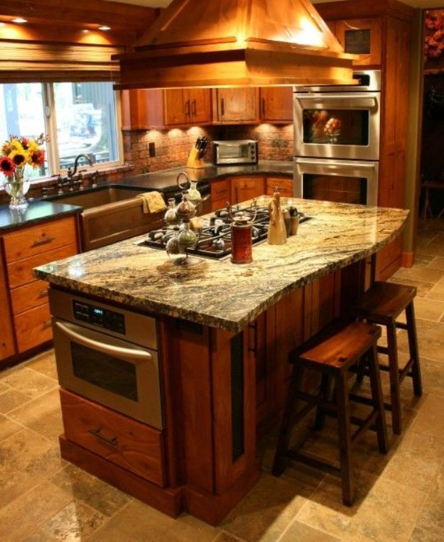 Kitchen Island Ideas With Stove Top 111 best kitchen island ideas images on pinterest | kitchen