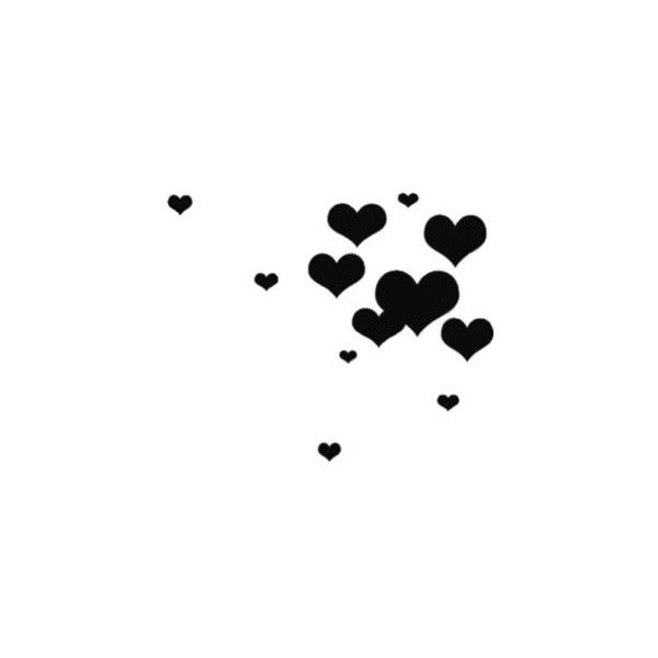 hearts - Image - TinyPic - Share the Experience!™ ❤ liked on Polyvore featuring backgrounds, hearts, love, decorations and black