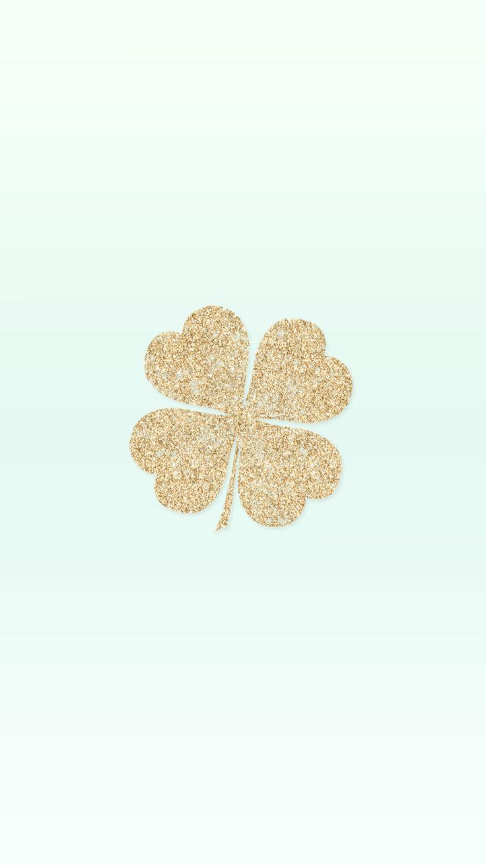 four leaf clover wallpaper