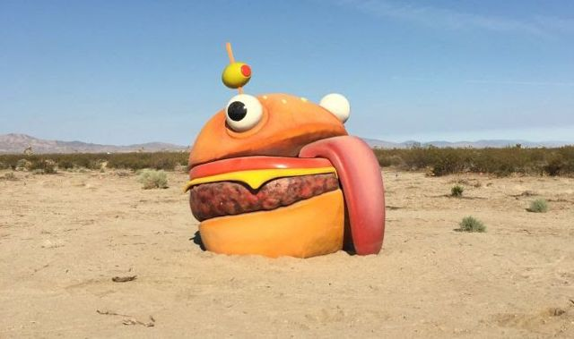 Fortnite Burger Aus Greasy Grove Reallife Epic Games Fortnite