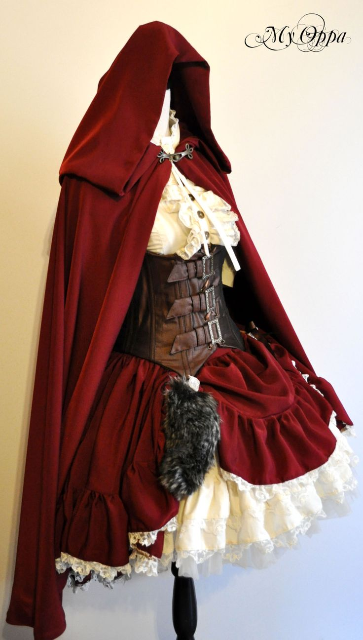 ♥ ♥ My Oppa - Little Red Riding Hood halloween idea                                                                                                                                                                                 More