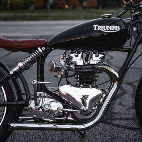 Harley Vintage Custom Bobber (5)