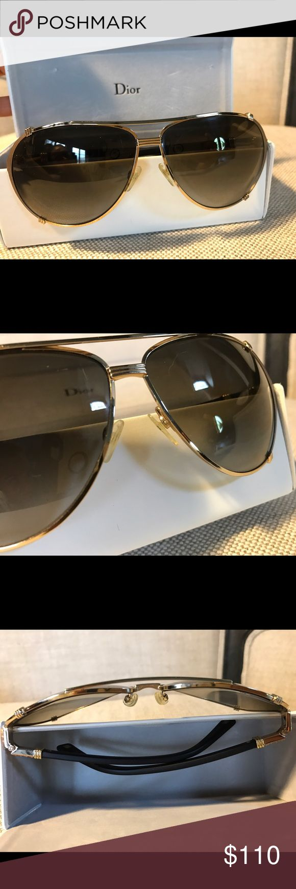Christian Dior Sunglasses • Retail $375+ Purchased last summer • Tiny scratch on lens as seen on photo • if wanted, Dior can replace the lens for a minimal fee but the scratch is not noticeable unless you analyze... ALL items come from a smoke and pet free home. Non-realistic offers will be ignored. Some items may be for purchase only with no offers accepted. No trading. Happy shopping and thank you! Accessories Sunglasses