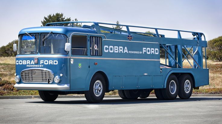 Carroll Shelby's Cobra transporter -- Buy this for your next Cobra event and you win... just be prepared to pay six figures for this car carrier.