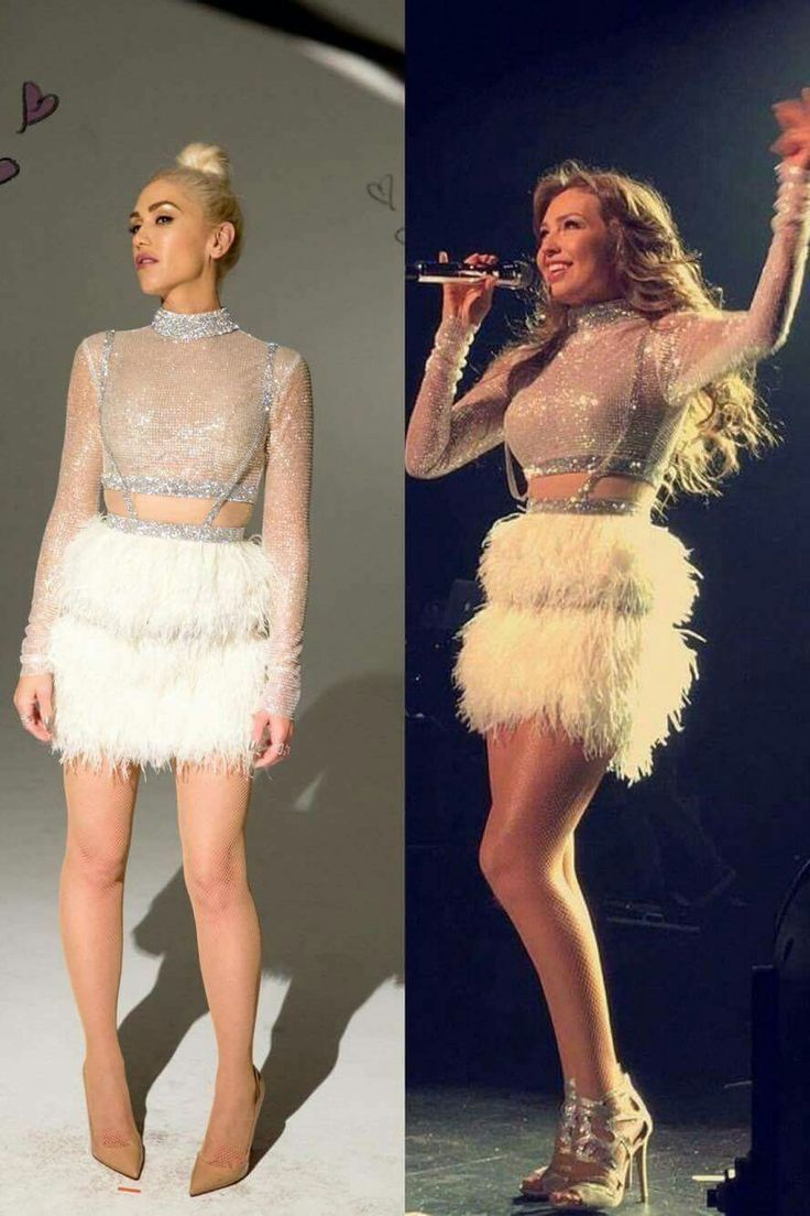 Gwen Stefani VS Thalia. Who wore it better?