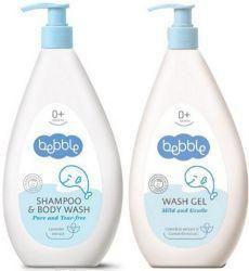Беббл шампунь детский для волос и тела 400мл+гель для мытья 400мл  — 252р.  Нежный детский шампунь с лавандой идеален для купания ребенка  Купание маленького ребенка – это всегда удовольствие для малыша и для его родителей. Сделать процедуру более приятной и полезной поможет использование шампуня Bebble от болгарской косметической компании Lavena.    Шампунь – это прекрасное моющее средство для очищения волос ребенка. Шампунь Bebble относится к категории «без слез», Вы можете не…
