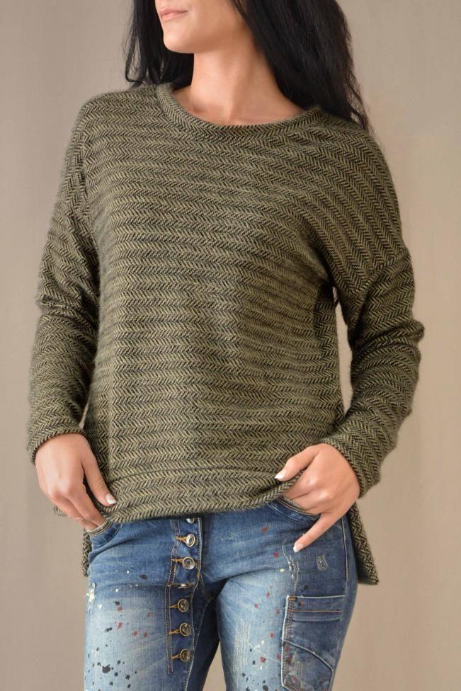 Γυναικεία μπλούζα ψαροκόκκαλο  MPLU-0778-be Γυναίκα - Μπλούζες και πουκάμισα